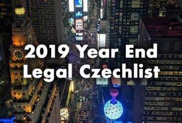 10 nejdůležitějších věcí, které by měl každý vlastník české společnosti udělat do konce roku 2019