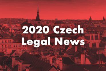 Czech Legal News 2020