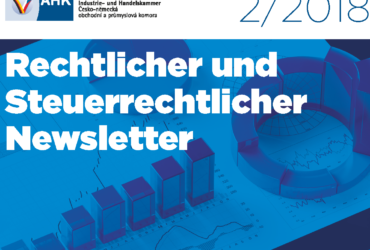 Mojmír Ježek a Roman Macháček v právním a daňovém newsletteru Česko-německé obchodní komory 2 2018 k problematice GDPR v rámci M&A transakce