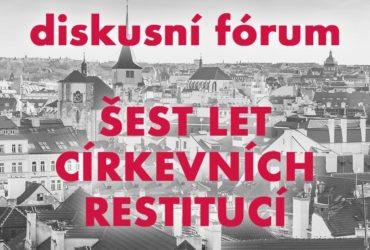Diskuzní fórum církevní restituce 28.11.2018