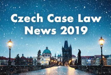 Nejdůležitější české judikáty a rozhodnutí roku 2019