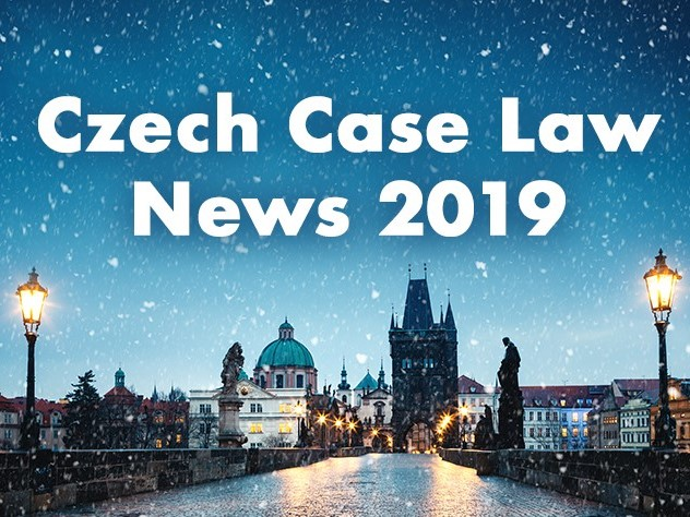 2019 Czech Case Law